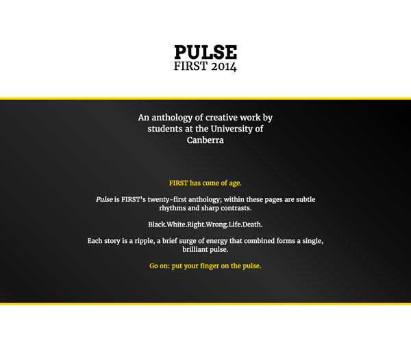 Pulse:First 2014